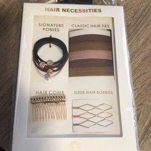 KNOTTY Hair Necessities Set of Hair Ties & Pins